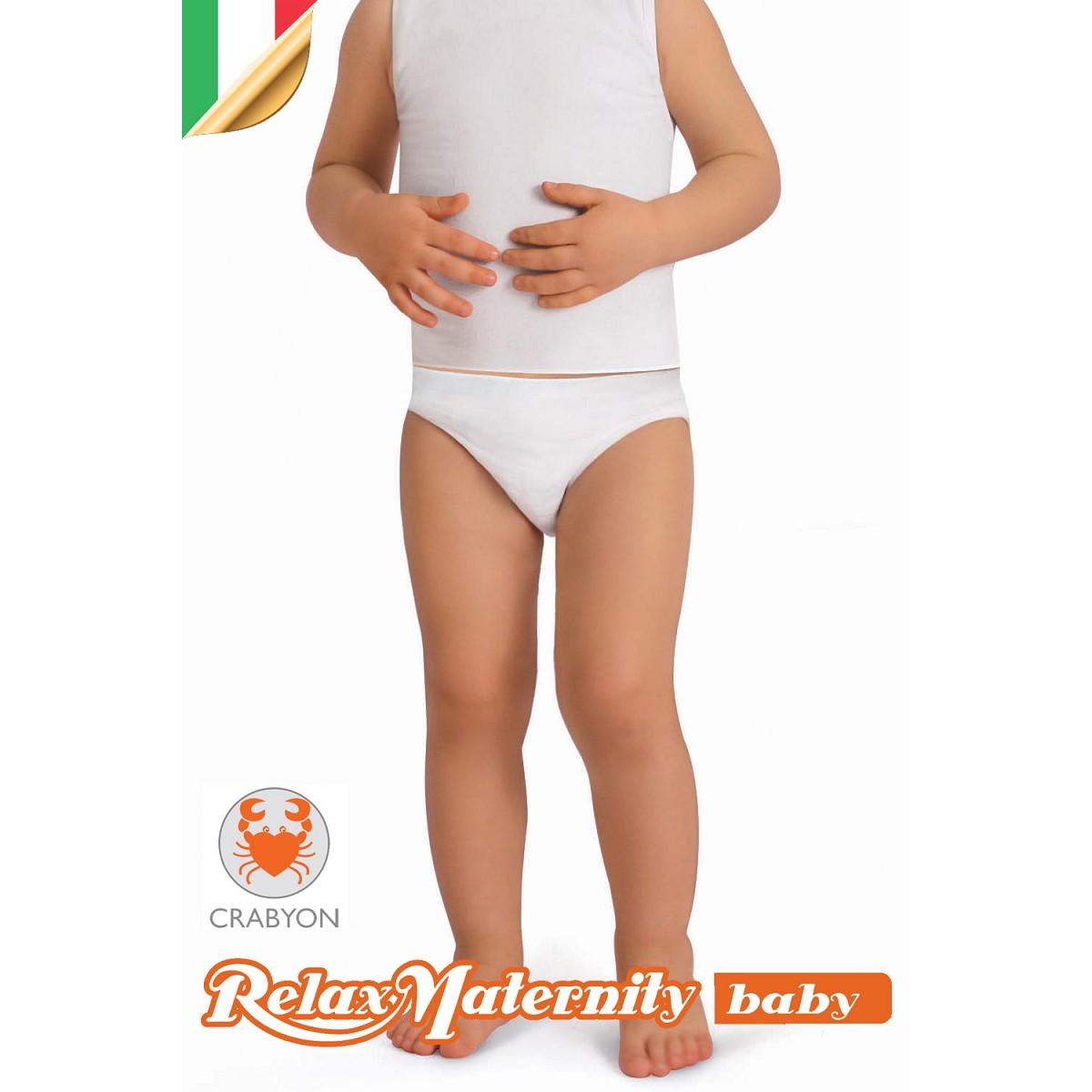 BODY CANOTTA BAMBINO CRABYON RelaxMaternity Baby INTIMO BIMBI 6-36 MESI NEONATO